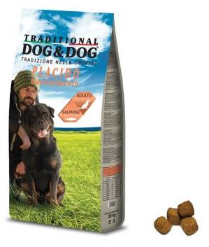 Dog & Dog Placido 20kg losos. Kompletné krmivo s príchuťou losos , pre dospelé psy všetkých plemien. Vhodné na udržanie optimálnej váhy vášho zvieraťa.